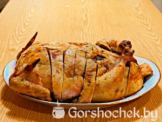 курица фаршированная блинами с печенью рецепт с фото
