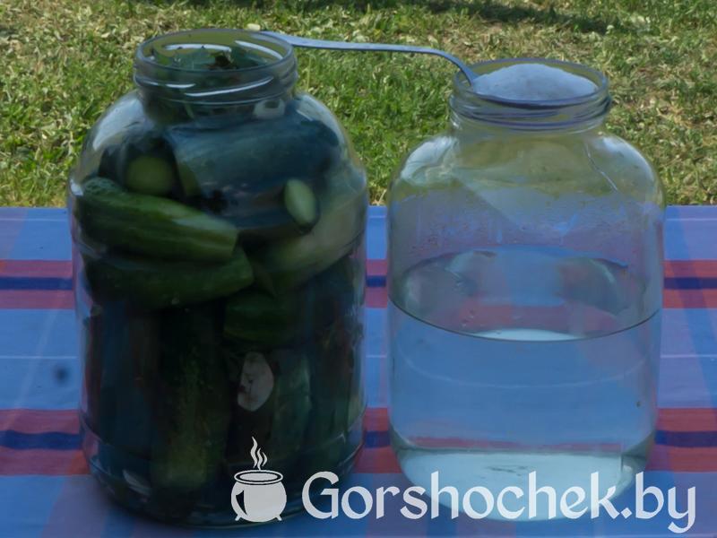Хрустящие малосольные огурцы (пошаговый рецепт с фото) Готовим рассол